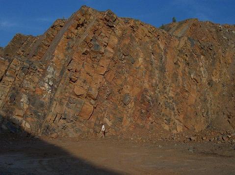 edelstenen en mineralen groeve Sauerland