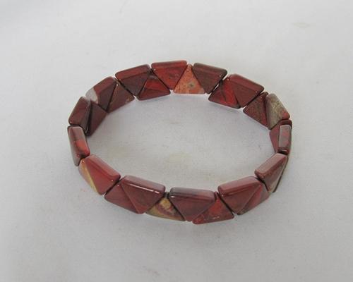 flower jaspis armband