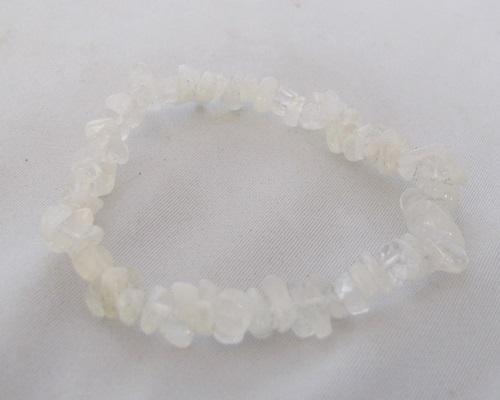 maansteen wit armbandje
