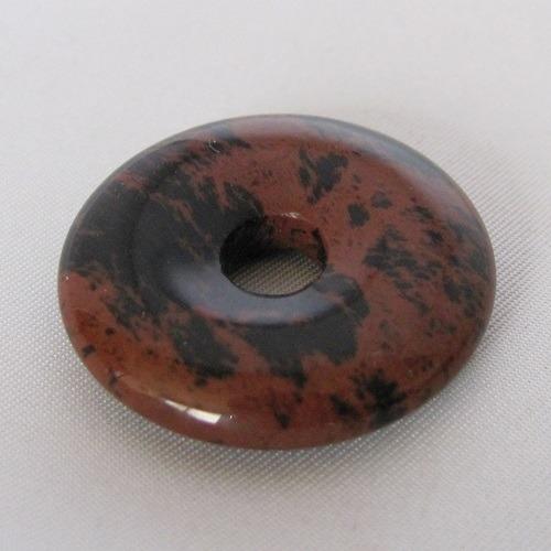 mahonie obsidiaan donut