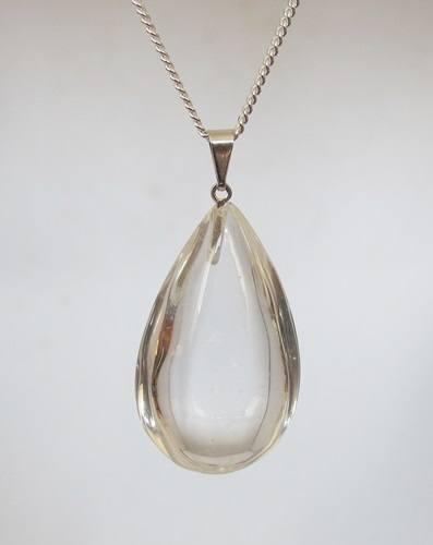 bergkristal hanger