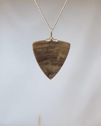 versteend hout hanger