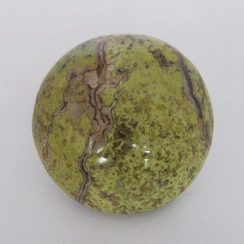 opaal groen handsteen
