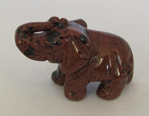 mahonie-obsidiaan olifant