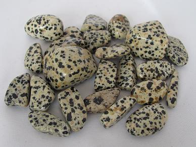 jaspis, dalmatiër trommelsteen